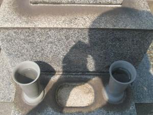 大阪府でお墓クリーニングとお墓参り代行 [before]