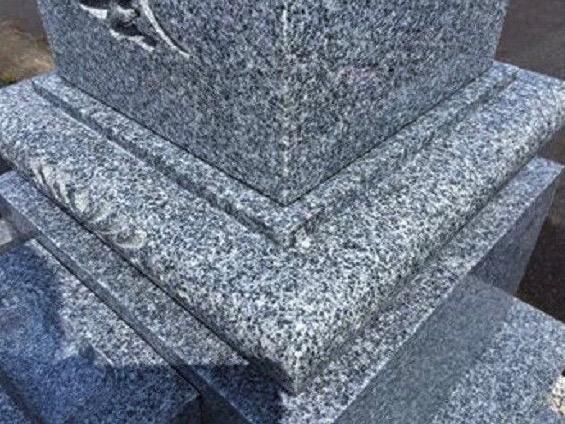 愛知県でお墓とお墓まわりのクリーニング [after]